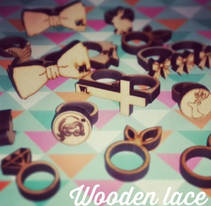 Wooden Lace Rings for every occasion
